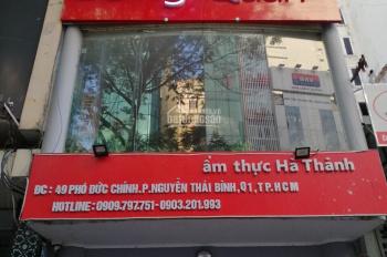 Cho thuê MT Lê Văn Sỹ P.1 (5x20m) Trệt 2 lầu đoạn kinh doanh sầm uất giá 85 triệu/tháng