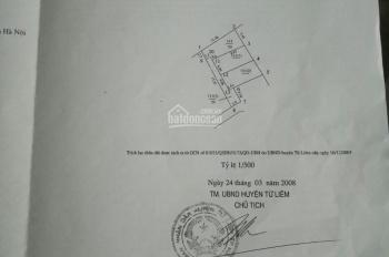 Chính chủ tôi bán gấp mảnh đất 50m2 tại thôn Lộc, Xuân Đỉnh giá rẻ