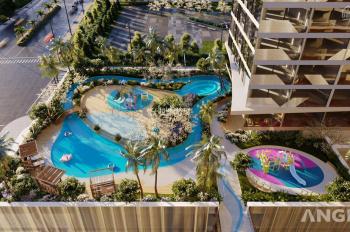 Cần sang nhượng căn hộ 1PN view công viên nước Ngọc Trai, thuộc căn hộ du lịch nghỉ dưỡng The Sóng