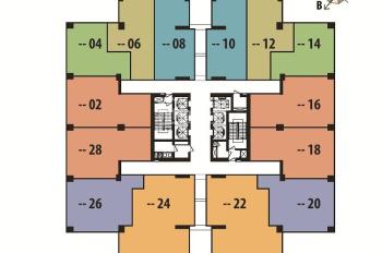 Bán căn góc 2PN, 74m2, cửa Tây Bắc chung cư The Pride Hải Phát, đủ đồ giá 1,55 tỷ. LH: 0946543583