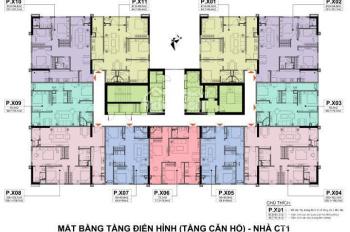Bán 3004 CT1 chung cư A10 Nam Trung Yên 102m2, 3PN, ban công ĐN