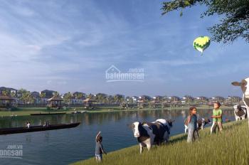 Bán các lô mặt sông khu đô thị sinh thái Cẩm Đình - Phúc Thọ, giá đầu tư tốt nhất thị trường