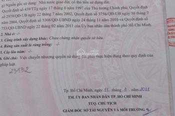 Bán nhà mặt tiền đường T6, phường Tây Thạnh, quận Tân Phú. DT ngang 8m, sâu 4,5m, 1 trệt, 1 lầu