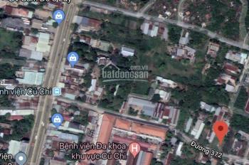 Bán miếng đất cổng sau bệnh viện Củ Chi, Tân An Hội, DT 5x26.5 .Cách QL22 100m