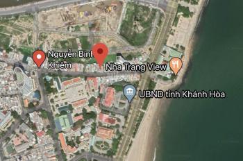 Bán nhà mặt đường Nguyễn Bỉnh Khiêm cách biển vài bước chân, diện tích 68,8m2, LH 0778087705