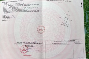 Bán đất Hưng Định,Bình Nhâm 5x20 giá chỉ 1 tỷ 8