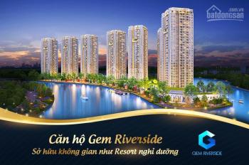 Chính chủ cần nhượng lại căn hộ 71m2 dự án Gem Riverside Đất Xanh, giá chỉ 2.46 tỷ. LH: 0909406405