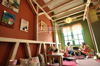 Cho thuê nhà mặt phố trần nhân tông DT 80m x 4 tầng MT 3m