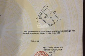 Bán nhà ngay tại cổng làng Mễ Trì Thượng, Nam Từ Liêm, nhà 4 tầng 2 mặt thoáng, mt 6m, 97m2x4T