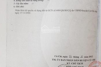 Thổ cư 100%, SHR, đường 12m, mặt tiền Võ Thị Hết, Hòa Phú, Củ Chi