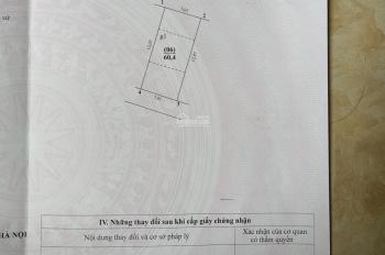Bán 60m2 đất - giá 2.5tỷ - khu phân lô tập thể X130 - xã Ngũ Hiệp - Thanh Trì - Hà Nội