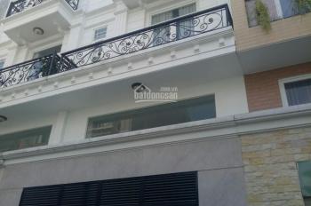 Nhà 4 x 14m trệt 1 lửng 2 lầu ST BTCT hẻm 5m Dương Quảng Hàm, P5, giá 5 tỷ, LH: 0909174916