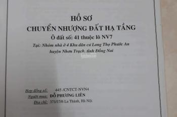 Chính chủ bán lô đất 300m2 HUD Nhơn Trạch, đường 16m, đối diện công viên, có sổ đỏ, LH: 0813108822
