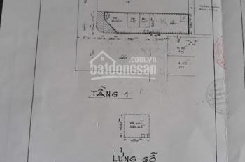 Bán nhà giá đầu tư, 2 MT Nguyễn Văn Lạc - Phan Văn Hân P19 BT DT 4*17m giá 10.5tỷ Toàn 0917918184