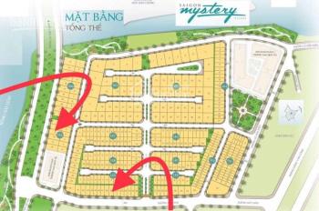 Cần bán gấp lô đất mặt tiền sông SG Mystery Hưng Thinh Q2 LK10 10x24 xây 7 lầu giá rẽ 215tr/m2