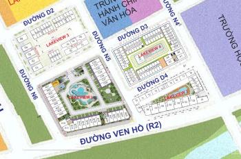 Bán nhà phố, shophouse Lakeview Thủ Thiêm, giá từ 22 tỷ - 60 tỷ/căn