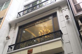Cần bán gấp nhà phố Trần Đại Nghĩa, Lê Thanh Nghị, 52m2, 5,5 tầng, mới tinh, ô tô vào, giá 12,5 tỷ