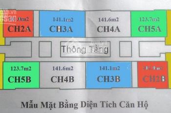 PDA: Bán cắt lỗ chung cư CT4 Vimeco, Nguyễn Chánh DT 101 - 123 -141- 48m2. Giá 29tr/CC: 0983262899