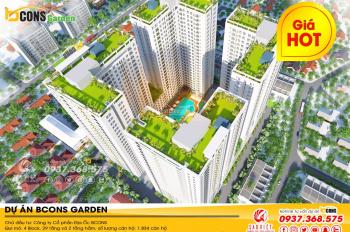Chuyên tư vấn căn hộ Bcons tại Dĩ An Garden, trả trước từ 10%, giá cạnh tranh