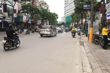 Cho thuê nhà mặt phố Nguyễn Khang, Cầu Giấy. DT 60m2, 3 tầng, MT 5m, giá 23 triệu/th