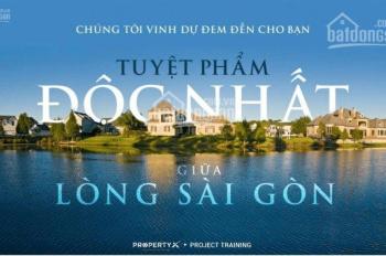 Hưng Thịnh mở bán Sài Gòn Garden villas, nền BT vườn đẳng cấp, MT sông Q9, giá chỉ từ 25 tỷ/nền