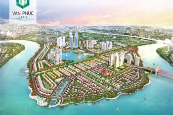 Bán gấp nền đất KĐT Vạn Phúc Riverside City, DT: 5 x 21,5m, giá 73tr/m2, LH: 0908.605.***