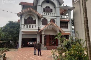 Bán biệt thự mặt đường QL6 tại thị trấn Lương Sơn