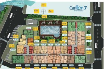 Chính chủ gửi bán Carillon 7 giá tốt 1,8 tỷ đến 3,5 tỷ, diện tích 45m2 - 112m2. LH 0938 840 186