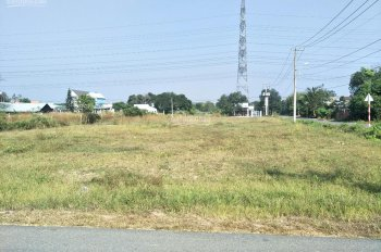 Bán đất nền giá rẻ 1 - 0 - 2, 509m2 thổ cư, MT TL7, thị trấn Củ Chi, chỉ với 3tr6/m2