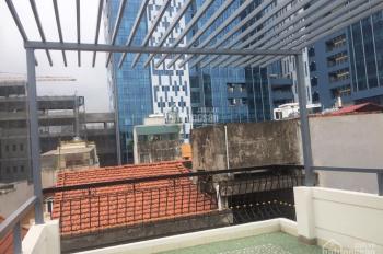 Bán nhà mặt ngõ thông, ô tô cách nhà 10m Lạc Long Quân, Bưởi, 45m2 * 5T, full nội thất, 4,4 tỷ (TL)