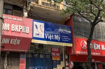 Cho thuê nhà mặt phố Lê Thanh Nghị, diện tích 88m2 x 4.5 tầng, mặt tiền 4.4m, giá 40 tr/tháng