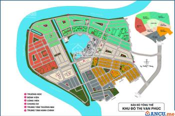 Chuyển nhượng lô đất KĐT Vạn Phúc Riverside Thủ Đức, DT 5x16m, Giá tốt từ 46tr/m2. LH 0931022221