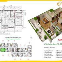 Bán gấp căn hộ CC Pandora 53 Triều Khúc,  căn 06 , diện tích 78,43m2 tầng đẹp LH: 0975206297