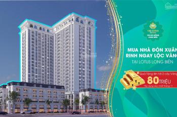 Mở bán căn hộ 3PN đẹp nhất Long Biên chỉ từ 23,5 triệu/m² nội thất cao cấp, tại TSG Lotus Long Biên