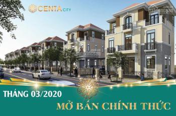 Duy nhất 12 căn biệt thự bậc nhất Centa City view công viên chỉ có trong tháng 3/2020