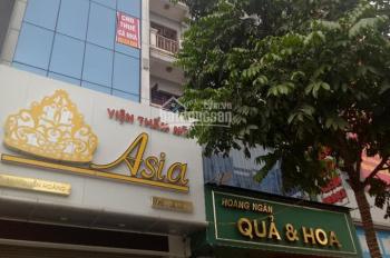 Cho thuê nhà Trần Duy Hưng, 65m2x 6 tầng, Mt 4m. Giá 30tr/tháng. Điều hòa, thang máy.