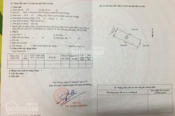 Cần bán mảnh đất đẹp tại khu 4 - phường Cẩm Thượng, Dt53,8m2, hướng  Tây ghé Bắc. Giá 780tr
