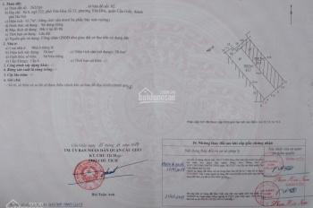 Bán đất sổ đỏ chính chủ tại ngõ 232 Yên Hòa, Cầu Giấy. Hà Nội