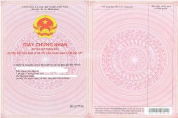 Bán đất ngay sổ hồng riêng, giá chỉ 450tr. LH: 0943510131