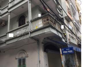 Cho thuê nhà mặt phố Vĩnh Phúc 2 mặt tiền 55m2 x 4,5 tầng kinh doanh mỹ phẩm, tóc, nail