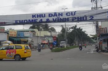 Kẹt tiền cần ra gấp lô đất CHÍNH CHỦ 120m2 Vĩnh Phú - thành phố Thuận An - Bình Dương