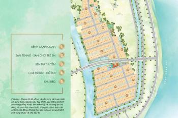 Bán đất biệt thự ven sông tại phường Long Trường Quận 9, liên hệ xem trực tiếp dự án