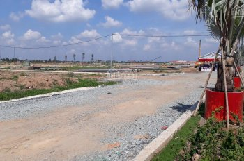 Chính chủ bán gấp đất MT đại lộ Tân Đức - Hải Sơn 45m giá chỉ 1 tỷ 100m2 sổ riêng LK Bình Chánh