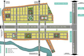 Bán đất nền nhà phố của dự án Phúc Hưng Golden giá từ 580tr - 650tr/nền tại KCN Minh Hưng III