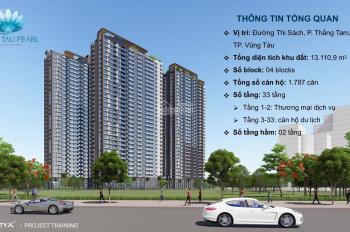 CHCC TP Vũng Tàu, lợi nhuận 18%/năm, giá chỉ từ 1,9 tỷ/53m2, tiện ích 5*. LH PKD: 0901.562.342