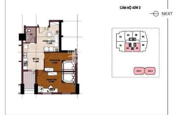 Bán căn hộ CT5 Văn Khê, DT 68m2, 2PN, nội thất cơ bản, giá 1 tỷ 100tr bao tên