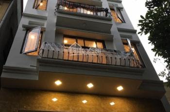 Cho thuê nhà MP Mễ Trì Thượng - Nam Từ Liêm. DT 55m2, 7 tầng thông sàn có thang máy, giá 35 tr/th