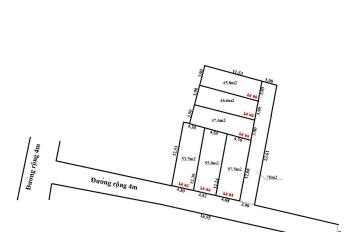 Chỉ 430tr/46m2 đất Đình Trung Xuân Nộn, đường vào 4m, cách 100m ra đường nhựa lớn giá đầu tư