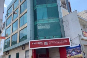 Cho thuê nhà góc 2 MT Cộng Hòa, Tân Bình, DT:5.2x22m, hầm 5 lầu ST, thang máy, giá 80 triệu/tháng