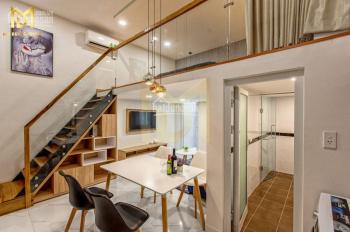 Căn hộ gác lửng full nội thất, gần Q6, giá chỉ 630 triệu/căn